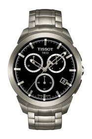 Tissot Men's Titanium Chronograph Bracelet Watch