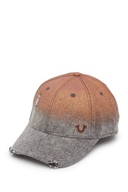 True Religion Rusty Metallic Baseball Cap