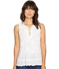 Lucky Brand Studded Peplum Tank Top