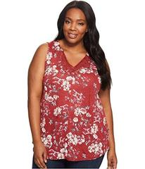 Lucky Brand Plus Size Wildflower Lace Tank Top