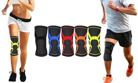 DCF Knee Compression Sleeve for Support and Recove