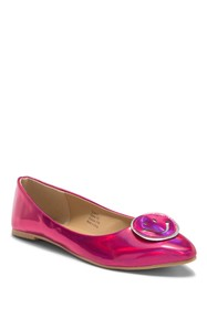 OLIVIA MILLER Emoji Ballet Flat (Little Kid & Big
