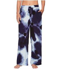 Donna Karan Satin Printed Pants