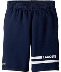 Lacoste Raised Fleece Sport Stripes Shorts (Toddle