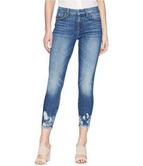 7 For All Mankind The Ankle Skinny w/ Bleach & Hol