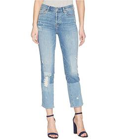 7 For All Mankind Edie w/ Patches in Laser Patched