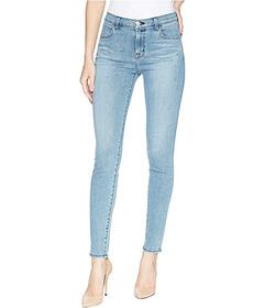 J Brand Maria High-Rise Skinny Jeans in Patriot