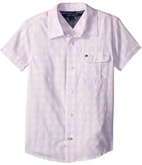 Tommy Hilfiger Short Sleeve Ryan Yarn-Dye Plaid Sh