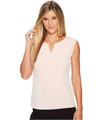 Calvin Klein Sleeveless Top w/ Pearl Detail