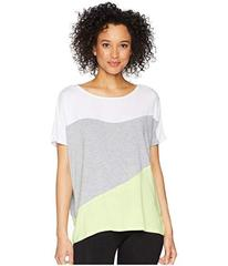 Donna Karan Color Block Top