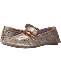 Johnston & Murphy Champagne Metallic Snake Print