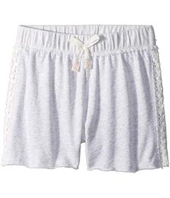 Splendid Littles French Terry Shorts w/ Lace (Big