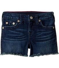 True Religion Joey Raw Shorts in Ocean Blue (Toddl
