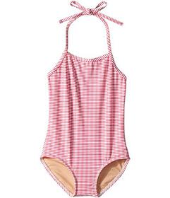 Toobydoo Lollipop Pink One-Piece Swimsuit (Infant/