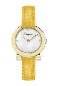 Salvatore Ferragamo Women's Mother of Pearl & Diam