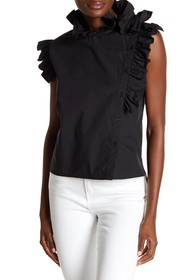 W118 by Walter Baker Shelby Ruffled Top