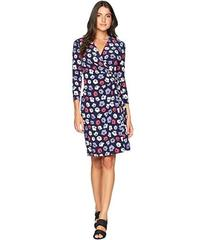 Anne Klein Classic Wrap Dress - Giverny Printed It