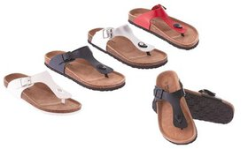 Seranoma Women's Thong Slide-On Sandal with Cork W