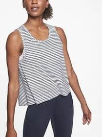Chi Striped Muscle Tank