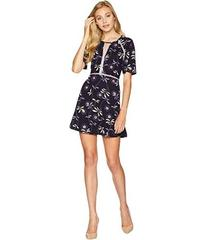 Juicy Couture Knit Roma Floral Texture Dress