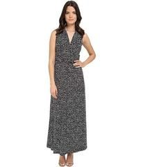 Vince Camuto Sleeveless Speckle Graphic Halter Max