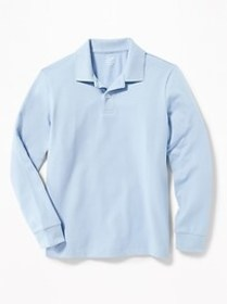 Stain-Resistant Uniform Polo for Boys