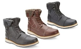 Reserved Men's Carswell Mid-Top Boots