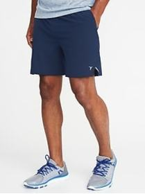 Quick-Dry 4-Way Stretch Run Shorts for Men (7\