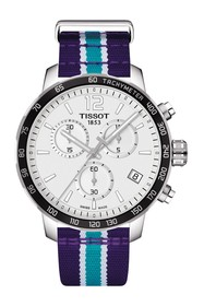 Tissot Men's Quickster Chronograph NBA Charlotte H