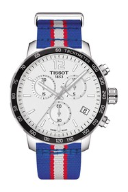 Tissot Men's Quickster Chronograph NBA Detroit Pis