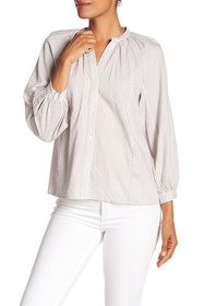 Lucky Brand Striped Poet Blouse
