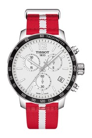 Tissot Men's Quickster Chronograph NBA Atlanta Haw