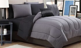 Reversible Lightweight Comforter Set with Sheets (