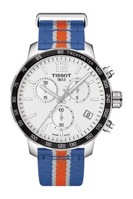 Tissot Quikster NBA Chronograph NATO Strap Watch