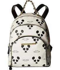 Betsey Johnson Triple Zip Backpack