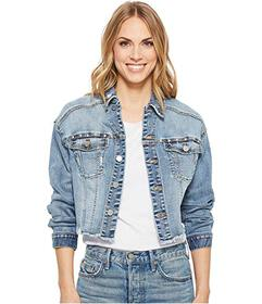 Liverpool Dropped Shoulder Cropped Jacket