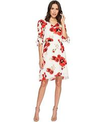 B Collection by Bobeau Ember Rouch Sleeve Dress
