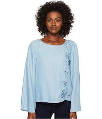 TWO by Vince Camuto Long Sleeve Side Lace-Up Tence