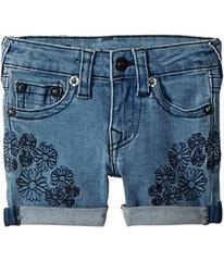 True Religion Bobby Embroidered in Daisy Blue (Tod