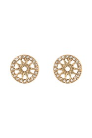 Marchesa Coin Stud Button Earrings