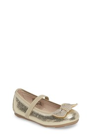 Stuart Weitzman Fannie Glitz Mary Jane (Walker & T