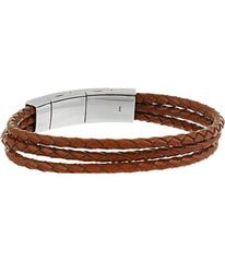 Fossil Multi-Strand Leather Bracelet