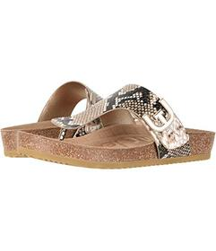 Sam Edelman Natural Royal Snake Print Leather