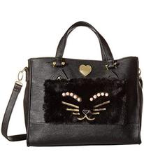 Betsey Johnson Kitsch Tote with Pouch