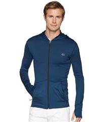 Lacoste Long Sleeve Bicolor Mid Layer Hoodie w/ Co