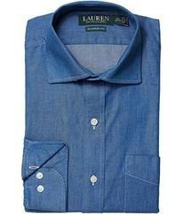 LAUREN Ralph Lauren Classic Fit No Iron Cotton Dre