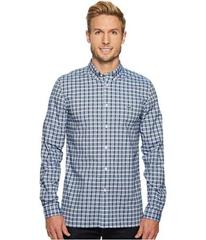 Lacoste Long Sleeve Oxford Check Button Down Colla