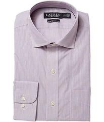 LAUREN Ralph Lauren Slim Fit No-Iron Cotton Dress