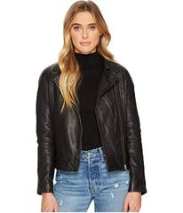 BB Dakota Harwick Leather Moto Jacket