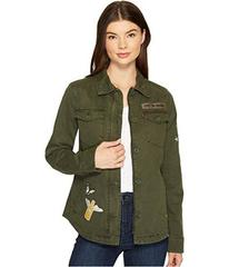 Levi's® Two-Pocket Shirt Jacket with Patches